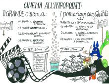 Dal 07/08 al 31/08 – Cinema all'infopoint